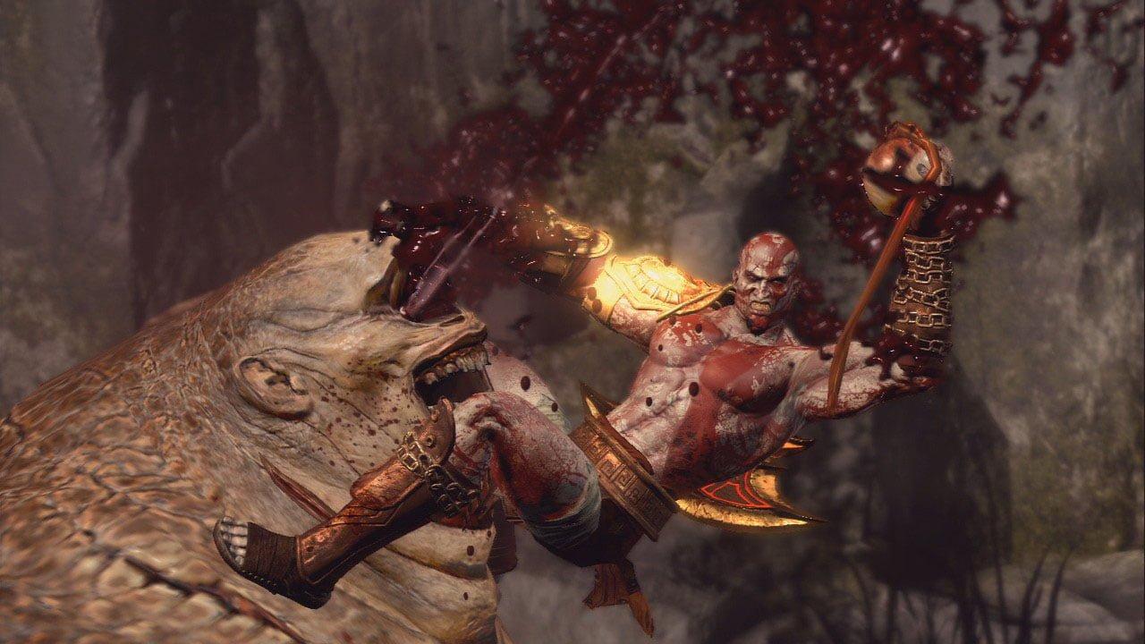 God of War 3 Gore
