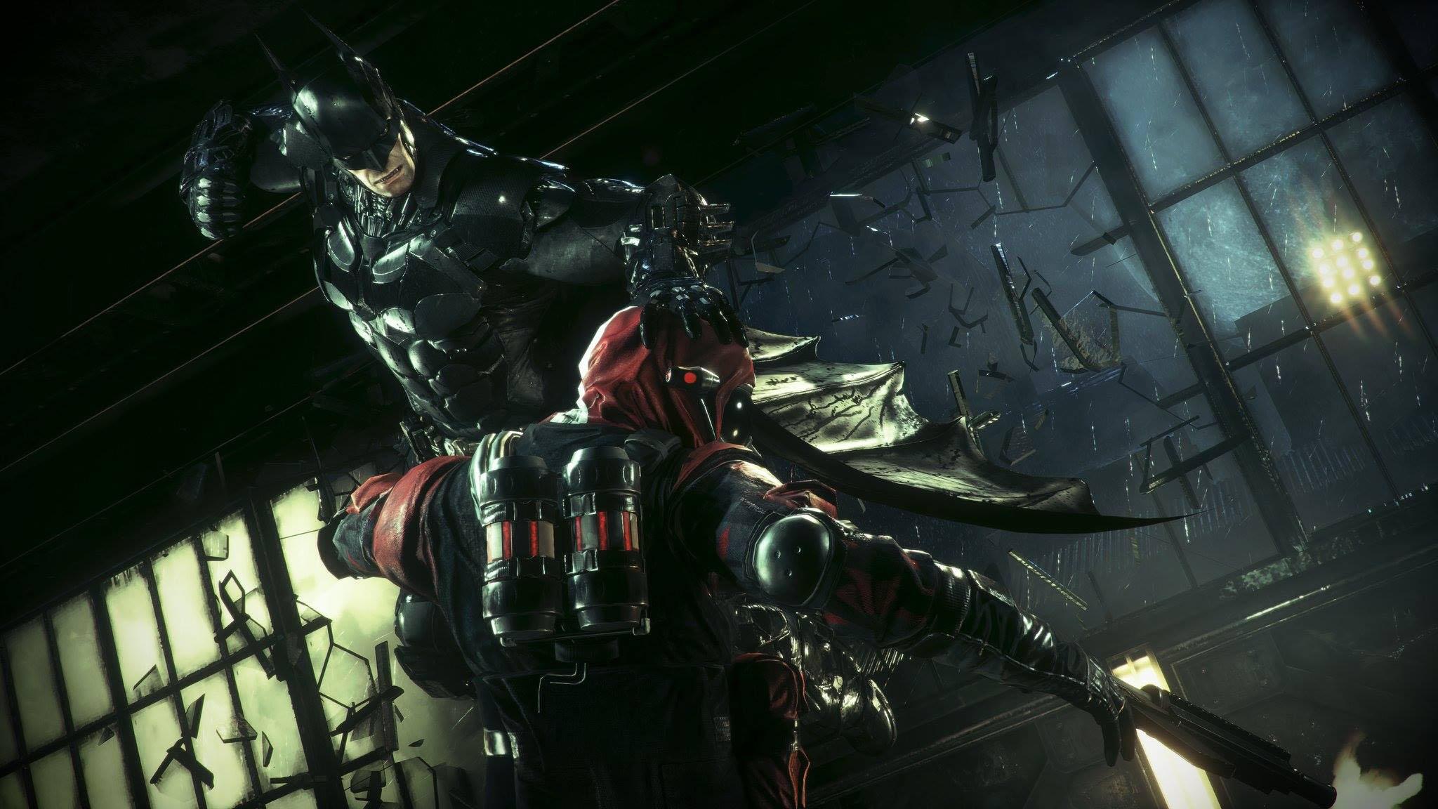 Batman: Arkham Knight Combat