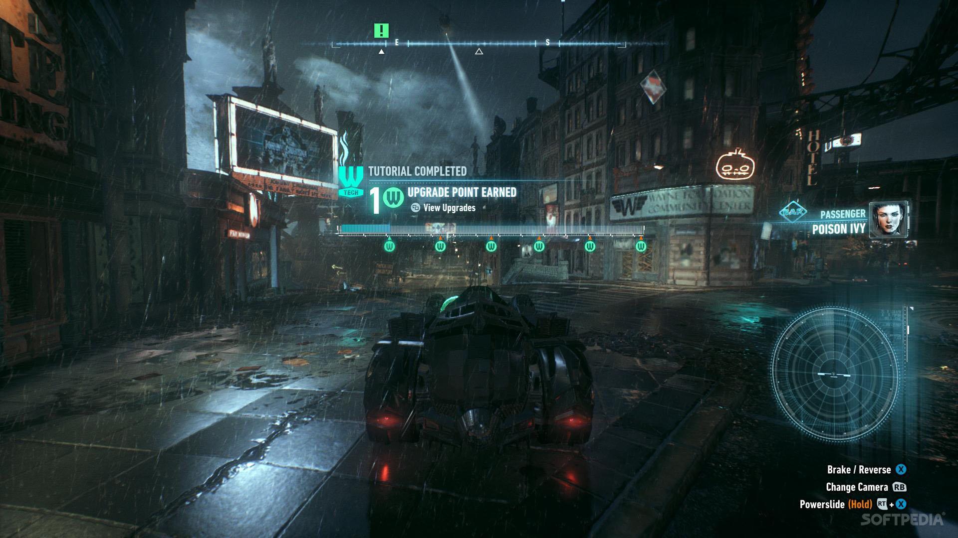 Batman: Arkham Knight Driving