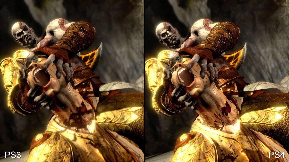 God of War 3 Graphics Comparison