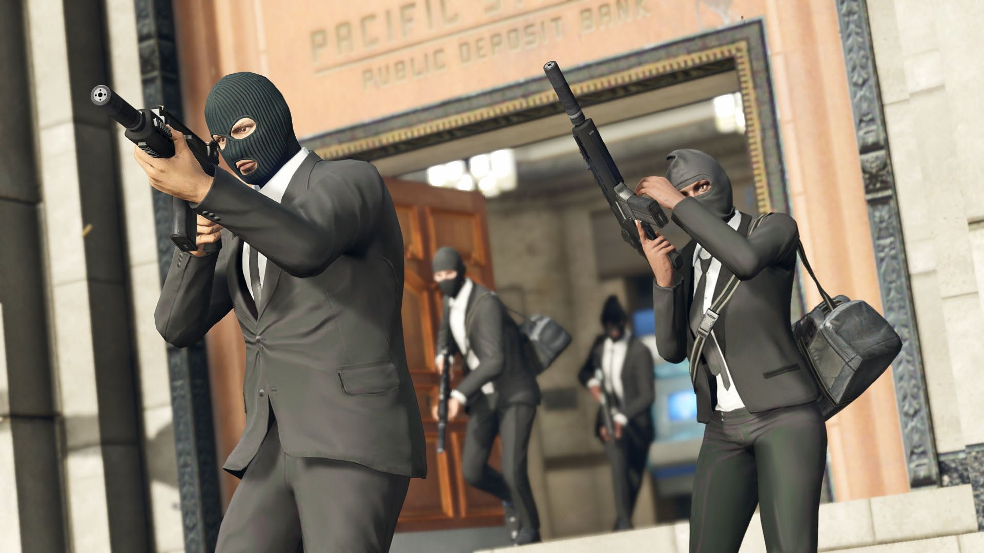 Grand Theft Auto 5 Online Heists