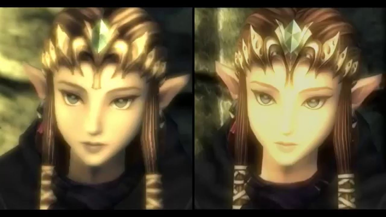 The Legend of Zelda: Twilight Princess HD Graphic Comparison