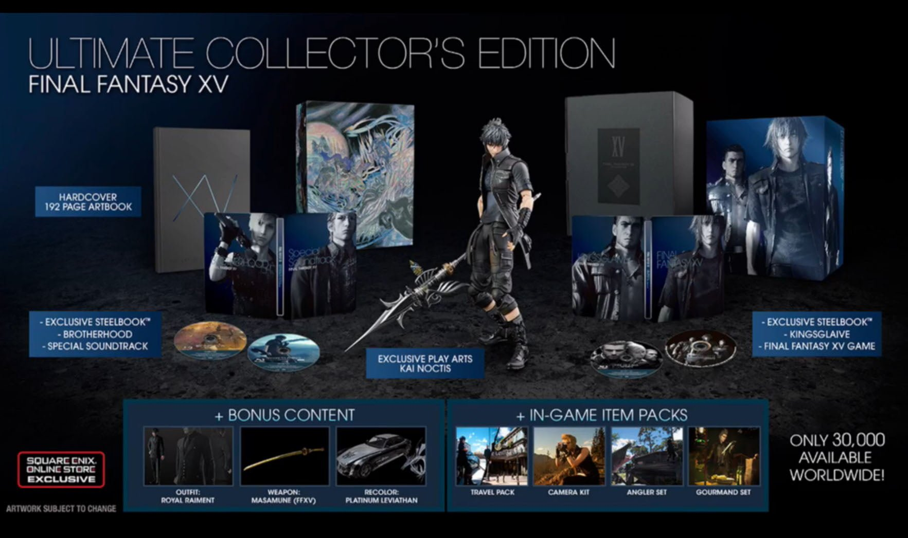 Final Fantasy XV Uncovered Ultimate Collector's Edition