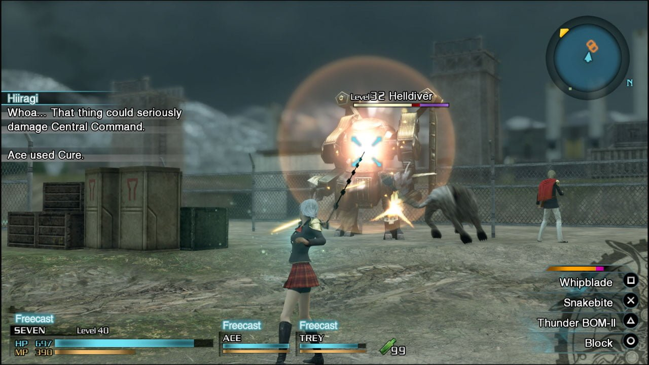 Final Fantasy Type-0 Combat
