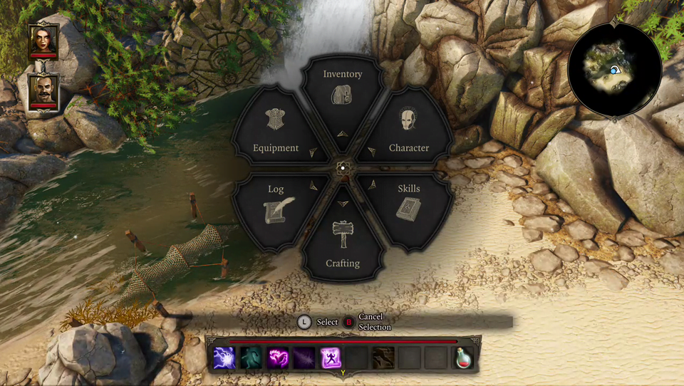 Divinity - Original Sin Enhanced Edition Console Interface