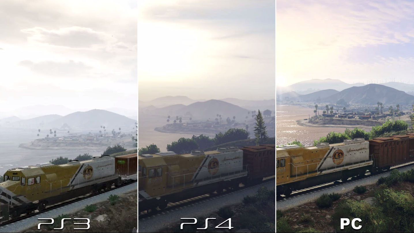 Grand Theft Auto 5 Graphic Comparison