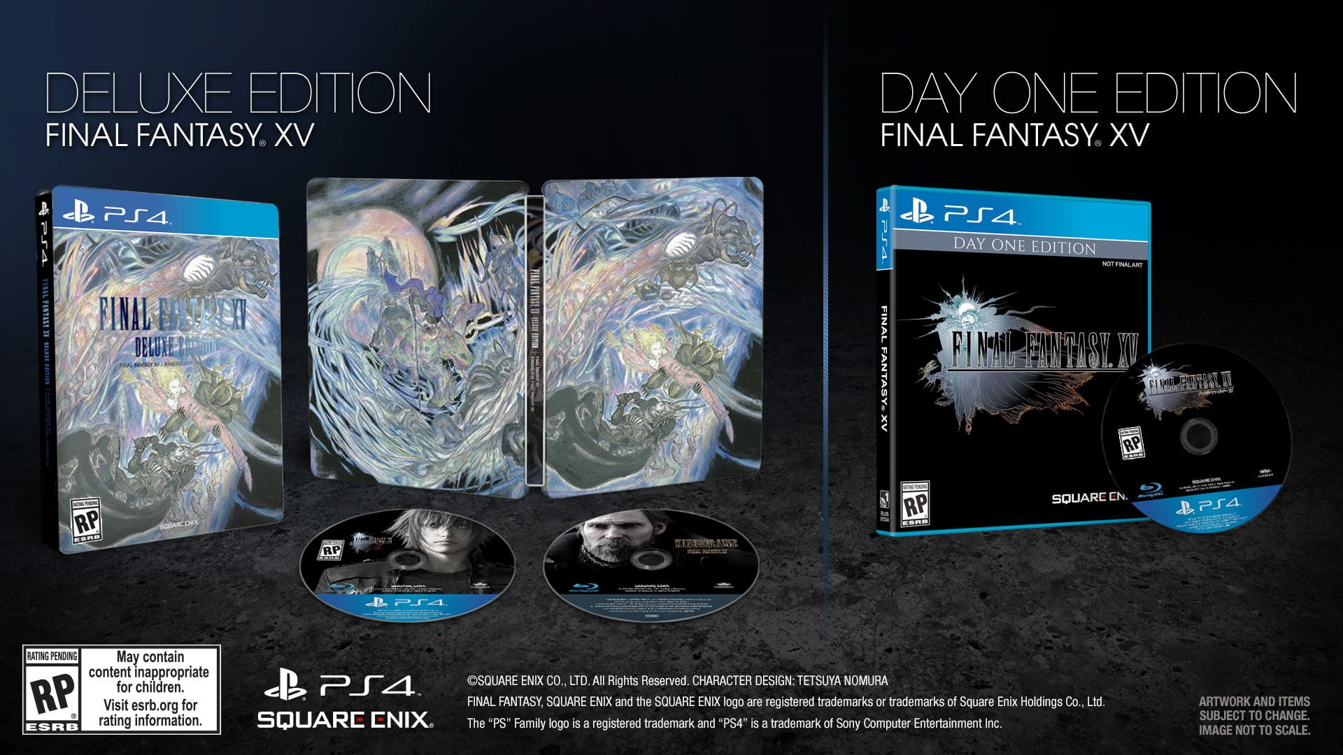 Final Fantasy XV Uncovered Deluxe Edition